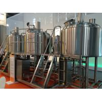 Semi Automatic 500L Small Microbrewery Machine For Brewpub Or Restaurant