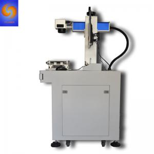 China Factory 20W 30W MOPA Color Laser Marking Machine for Iphone IPAD SS Watch on sale