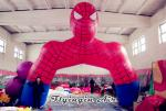 Customized Inflatable Cartoon Arch, inflatable Spider-man Archway