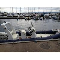 520cm panga boat  PVC big width  inflatable rib boat  rib520A with sunbed center console rear cabin CE certificate