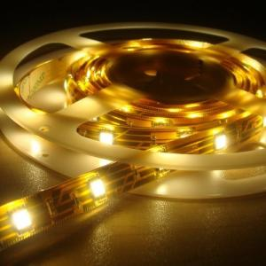 China SMD LED Fexible Strip, Bare Board, Silicon Casing, PU Glue or Solid Silicon on sale