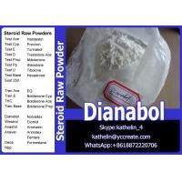 Oral Steroid Hormone Raw Powder Methandienone / Dianabol / D-Bol Cycle CAS No. 72-63-9