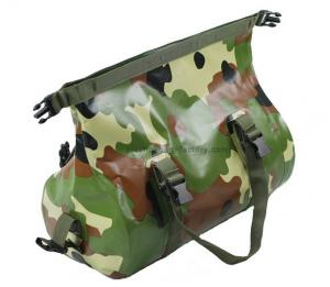 China Travel / sport outdoor camouflage PVC mesh duffel bags for women / men on sale