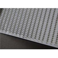 Glass Laminated Metal Wire Mesh Fabric , Laminated Glass Interlayer Art Mesh