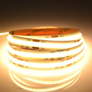 China High Density CCT Adjustable LED White Strip Light, Color Optional Flip-Chip Extremely Flexible COB LED Strip wholesale