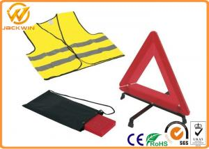 China Reflective Warning Triangle , Auto Safety First Aid Breakdown Warning Triangle  on sale