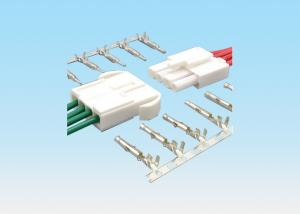 China 4.5mm Pitch Quick Connect Wire Connectors , Electrical Wire Connectors Tin Plated Terminal on sale