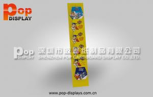 China Lightweight Corrugated Pop Display Offset Printing For Showing Books / Brochures / Snacks on sale