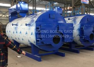 China 3 Pass Fire Tube Boiler Gas Fired Water Steam Boiler For Office Building on sale