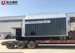 China Large Furnace Wood Fired Steam Boiler , Firewood Boiler 3000Kg Energy Saving on sale