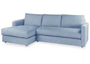 China Large Blue Living Room Sofa Set 5 Seater Contemporary Sectional Sofas Modern Style on sale