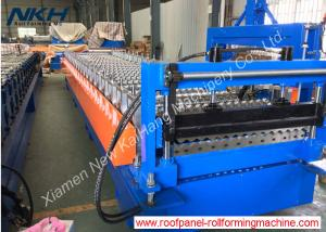 China Reliable Roof Panel Roll Forming Machine Customized With PLC Control System on sale