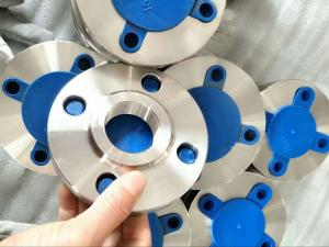 China PN6 - PN100 Duplex Stainless Steel Flanges ASTM A182 F316Ti Threaded Flange JIS B2220 on sale