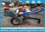 Double treuil de tracteur de tambour de 5 tonnes avec le moteur diesel à refroidissement par eau pour la traction de câble