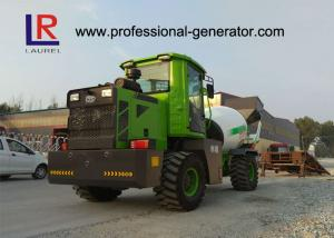 Quality 4 Cubic Meters Concrete Mixer Truck , Water Tank Capacity 660L for sale