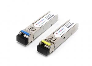 China LC Connector Video SFP Transceiver / 10Km HD Video Transmitter on sale
