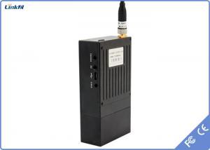 China Military Mini 30dBm 1W COFDM Audio Video transmitter Wireless Long distance transmission on sale