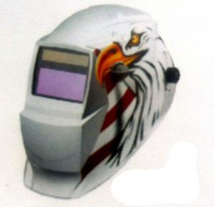China Safe Blue / Red Auto Darkening Welding Helmet With PP Material on sale
