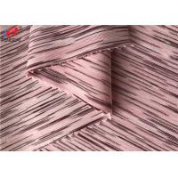 4 Way Stretch Weft Knitted Melange Fabric Yard Dyed Single Jersey Fabric For T-shirt