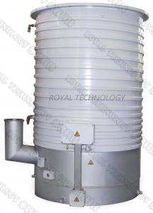 China 24KW Heating Power Oil Diffusion Pump High Vacuum For High Temperature Metallurgy on sale