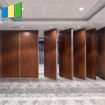 Folding Door Operable Walls Movable Sound Proof Partitions For Restaurant