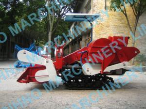 China 4L-1.0 rice harvester / rice combine harvester, price of rice harvester on sale