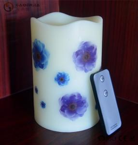 China Blinking Spiritual Paraffin Wax Flameless Candles For Home Decor on sale