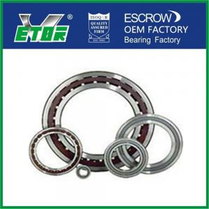 China Thin Section Angular Contact Ball Bearing Single Row For Car Front Wheel supplier
