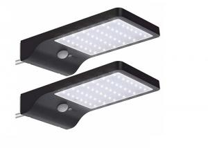 China 48 LEDs Adjustable Color Temperature Solar Wall PIR Lights With Mounting Pole on sale