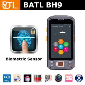 China BATL BH9 3g IP65 handheld computer with fingerprint for police on sale