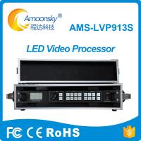 Electronic signs Die Casting Aluminum Cabinet led tv processor LVP913S with flight case for led control software linsn