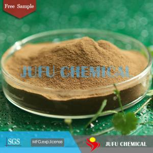 China sodium lignosulfonate used as water reducing admixture SF-1 yellow powder set retarder ceramic additive on sale