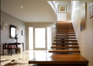... Quality Diy Design Modern Floating Stairs , Fancy Steel And Wood  Staircase Design For Sale ...