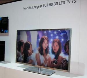 China 75 Full HD 3D LED TV on sale