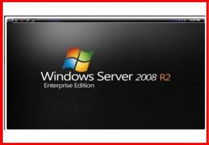 China OEM Software Key Code / Windows Server 2008 R2 Enterprise 1 - 4 Cpu 25 CLT on sale