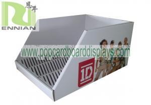 China One Direction Cardboard Counter Display Dump Cardboard Bin Display Unit Racks ENDB015 on sale