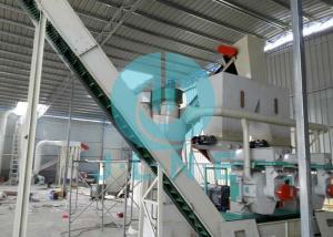 China 440V Wood Pellet Production Line / EFB Pellets Making Complete Wood Pellet Plant on sale