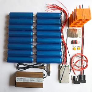 China DIY 12V45Ah 4S3P LiFePO4 Headway battery pack kits on sale