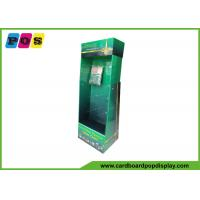 Supermarket Promotion Cardboard Product Display Stands For Table Cloth HD026