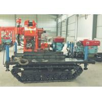 Crawler Mounted DTH Drilling Rig Diesel Power Type For Stone Borehole