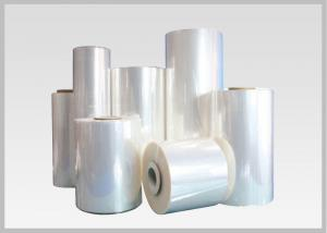 China 35 Mic Clear Soft Pvc Shrink Film Rolls, Heat Shrink Wrap Film With Blow Molding on sale