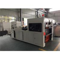 Double Wall Paper Glass Making Machine , Paper Reel Cutting Machine With Embossing