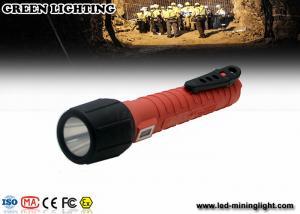 China 6Ah 3.7V battey exproof flashlight , Cree LED ex proof lighting customized Color on sale