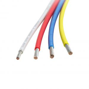China Fire Resistant 24 Awg  Insulated Wire With Nickel Plated Copper on sale