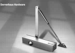 China 180 Degree Parallel Arm Door Closer Euro Style Non - Handed Installation for 150kg Door on sale