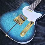 TUFF DOG Guitar High quality custom blue COLOR Rosewood fingerboard Free Shipping