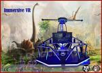 Blue / Red LED Virtual Reality Simulator 2 Handles 9d VR Magic Interactive Games