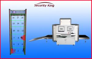 China Security Checkpoints X Ray Inspection System , 43mm Steel Penetrate X Ray Airport Scanner on sale
