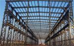 Prefab Steel Industrial Building / Steel Frame Industrial Buildings Construction