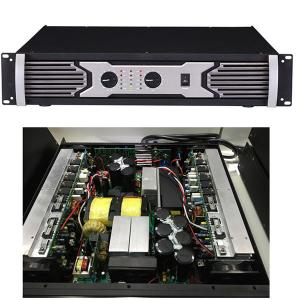China PA-8000 two channel digital power amplifier  2500W*2/4ohm 1500W*2/8ohm on sale